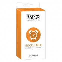 Secura Kondome Good Timer Delay x24 Condoms