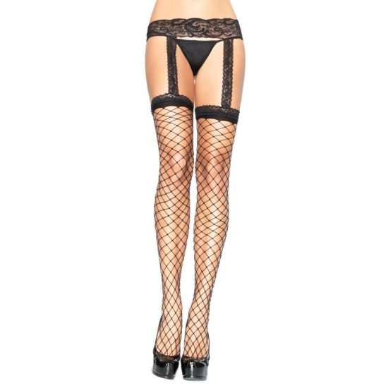 Leg Avenue Garterbelt Stockings UK 8 to 14
