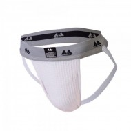 Jockstrap White with 2 Inch Band