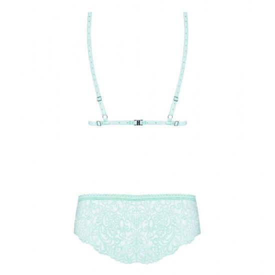 Delicanta Set Mint Bra And Panties