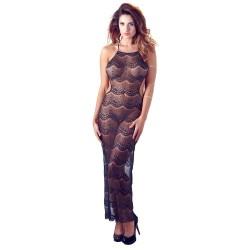 Mandy Mystery Backless Long Dress