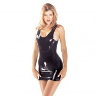 Latex Mini Dress
