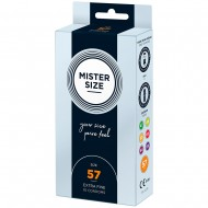 Mister Size 57mm Your Size Pure Feel Condoms 10 Pack