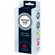 Mister Size 60mm Your Size Pure Feel Condoms 10 Pack