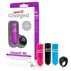 Screaming O Charged Vooom Pink Remote Control Bullet Vibe