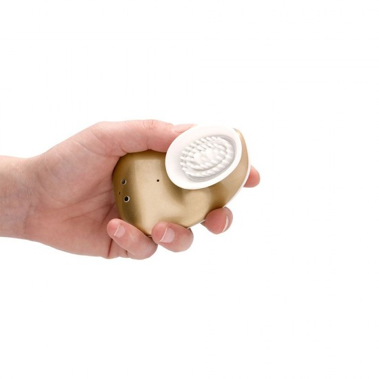 Twitch Gold Hands Free Suction And Vibration Toy