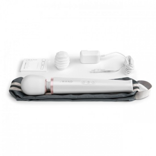 Le Wand Rechargeable White Massager