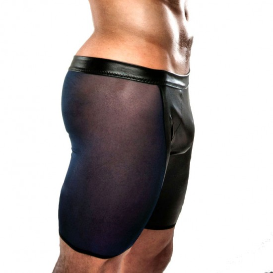 Passion Navy And Black Shorts