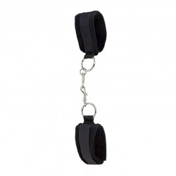Ouch Velcro Black Cuffs For Hands And Ankles