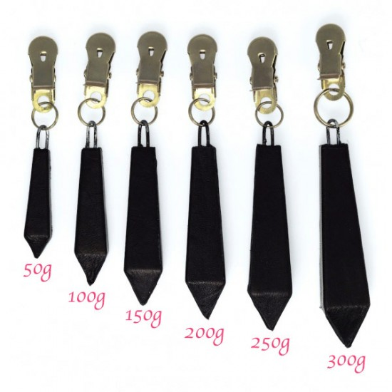 Long Nipple Clamps With Weight 250g