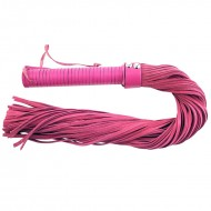 Rouge Garments Pink Suede Flogger