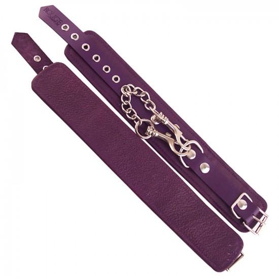 Rouge Garments Ankle Cuffs Purple