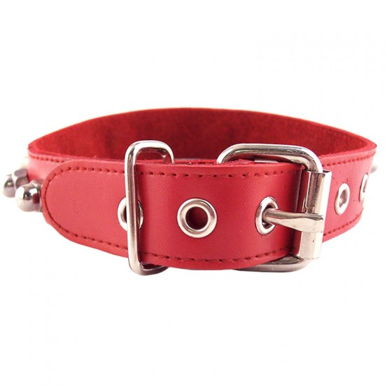 Rouge Garments Red Nut Collar