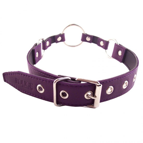 Rouge Garments O Ring Gag Purple