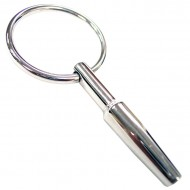 Rouge Stainless Steel Urethral Probe With Ring