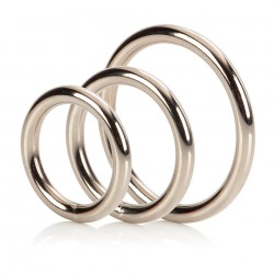 3 Piece Silver Ring Set