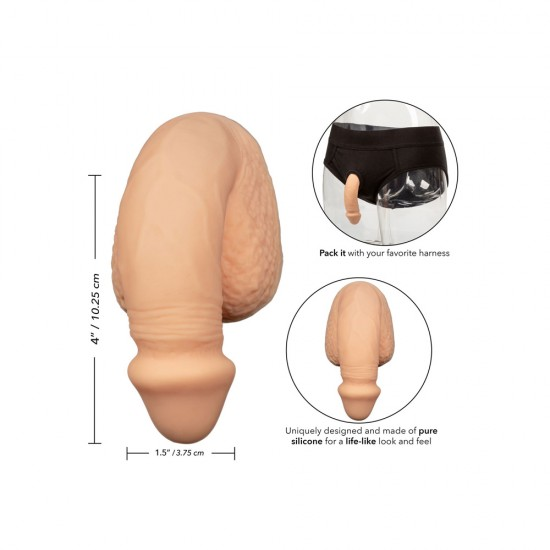 Packer Gear 4 Inch Silicone Packing Penis
