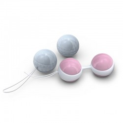 Lelo Luna Beads Mini Pink And Blue