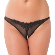 Open Pearl GString