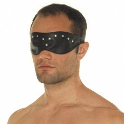 Leather Blindfold Mask