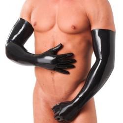 Rubber Secrets Long Gloves